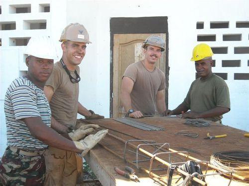 SeaBees construction site (Comoros February 28)