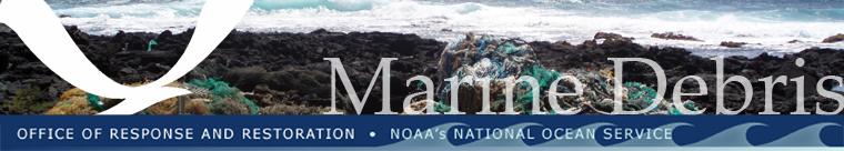 NOAA Marine Debris Program banner