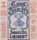 Old advertisement for snake oil medication