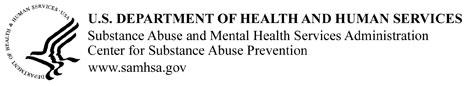 HHS Logo for CSAP
