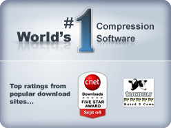 World's number one compression software.