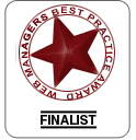 Web Managers Best Practice Awards Finalist Image
