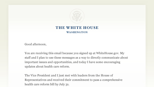 The President discusses health care reform