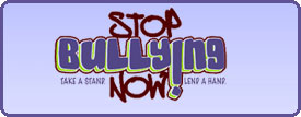 stop bullying now take a stand lend a hand