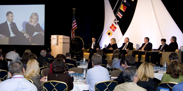 Plenary panel discussion at the Interagency Resources Management Conference (IRMCO) 2009.