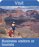 Business visitors or tourists