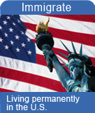 Living permanently in the U.S.
