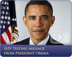 National HIV Testing Day Message from President Obama