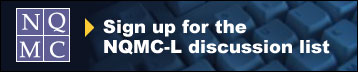 Sign up for the NQMC Discussion List