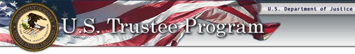 U.S. Department of Justice, U.S. Trustee Program