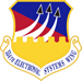 554th Electronic Systems Wing shield