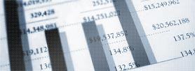 Photo of spreadsheet