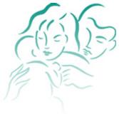 Ilustración mostrando una madre y un padre cargando a su bebé