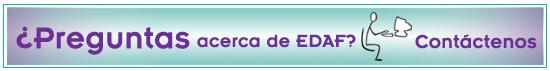 para un número de teléfono sin cargo o correo electrónico que pueda usar para enviar una pregunta al Especialista en Información del Centro de Excelencia EDAF