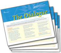 Cover of The Dialogue's Latest Issue