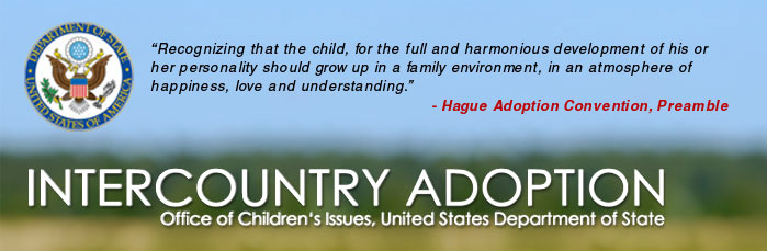 InterCountry Adoption Header