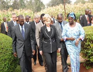 William Ruto, Minister of Agriculture, Sec State, Wangari Mathai
