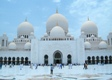 White Mosque-05, Abu Dhabi, UAE - Third biggest mosque in the world. Photographer: Dol from Thailand