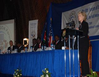 Opening of AGOA, Kenyatta International Conference Centre.