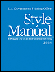 U.S. Government Printing Office Style Manual 2008