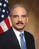 DOJ Attorney General Eric Holder