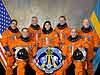 STS-128 crew members