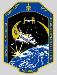 STS-126 mission insignia