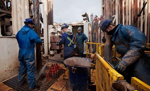 A Scene of Fracking.