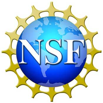 Logo of the National Science Foundation (NSF)