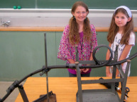 Students in Engineering Amusement learned about the physics of thrill rides by constructing their own rollercoasters.