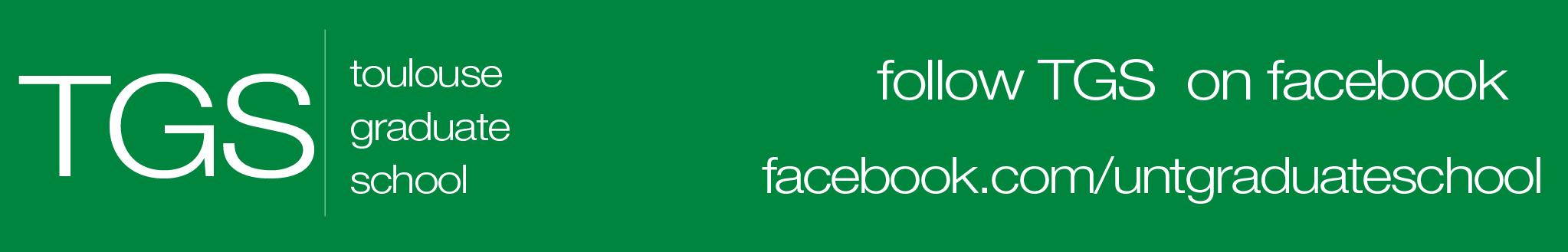 Toulouse Graduate School Facebook