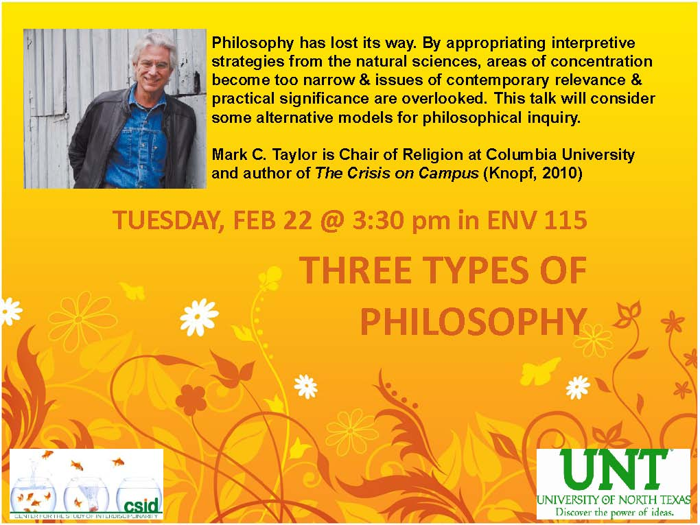 Tuesday Lecture
