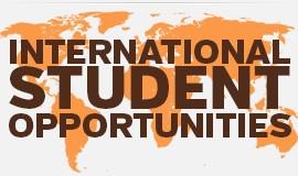 International Student Opportunities