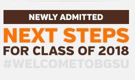 Newly Admitted - Next Steps for Class of 2018