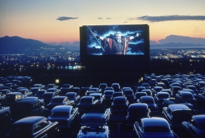 Reel deal: the old-style American drive-in has become a relic and may soon disappear