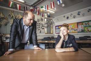Class acts: Mr Bispham in Educating the East End
