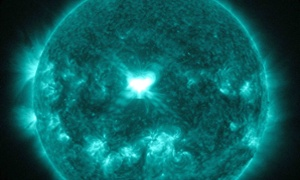 Twin solar storms arrive at Earth